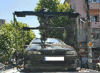 В Сливен вече работи автомобил за репатриране на неправилно паркирани коли
