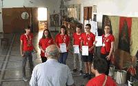 Ямболски ученици спечелиха шест медала от международно състезание в Белград