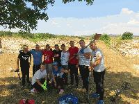 Проучвания на студенти разкриха нови данни за Малкото кале и Средновековния манастир край Воден