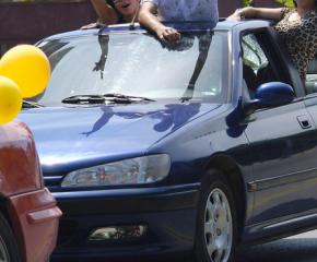 По-скромни абитуриентски празненства тази година, но с много пътни нарушения