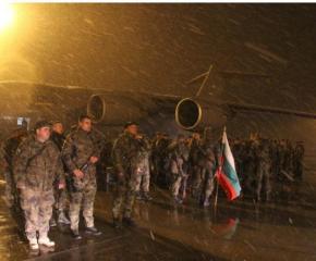 120 български военни се завърнаха от Афганистан