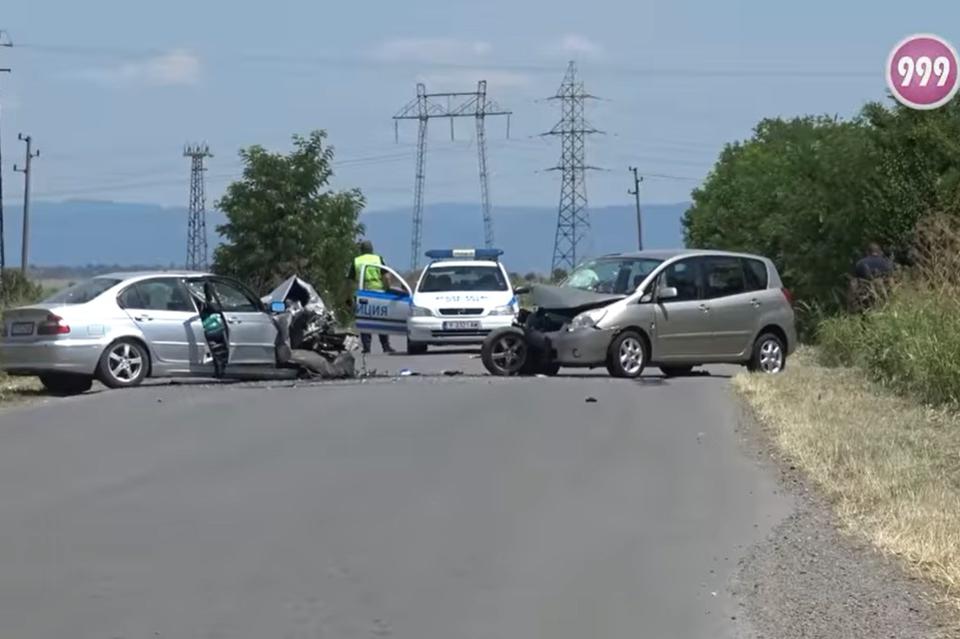 Припомняме:  Това видя минути след инцидента екипът на 999. От ОДМВР събщават в официална информация, че на 16 юли към 10:45 ч. на тел. 112 е получен...