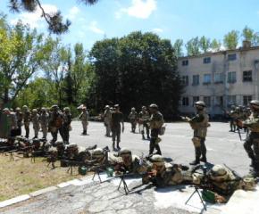 42-ри батальон в Ямбол е готов за Афганистан
