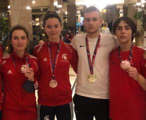 5 медала за българските състезатели по теакуондо
