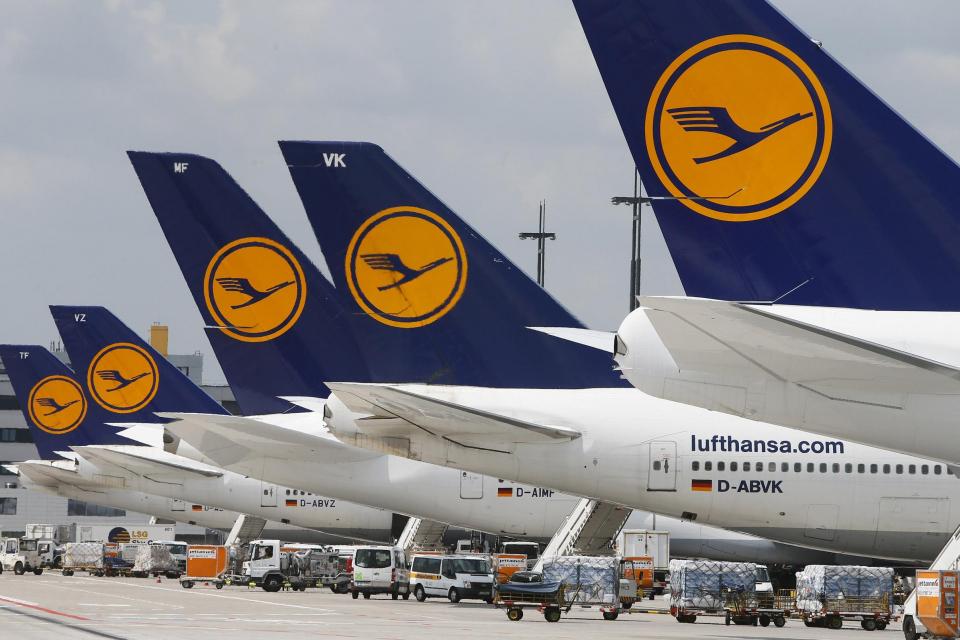 """Продължава стачката на авиокомпания """"Луфтханза"""". Днес са отменени 6 полета от и за Мюнхен и Франкфурт, които Летище София трябваше да обслужи. Общо 1200..."""
