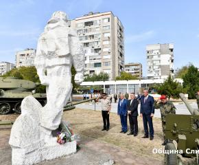 70-годишнина от връчването на бойното знаме чества Военно формирование 22220-Сливен (снимки)