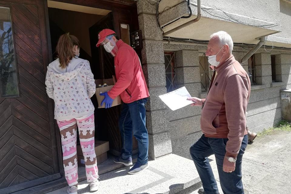 БЧК - Ямбол приключи раздаване на хранителни продукти на допълнително включени уязвими лица в Оперативната програма за храни и/или основно материално подпомагане....