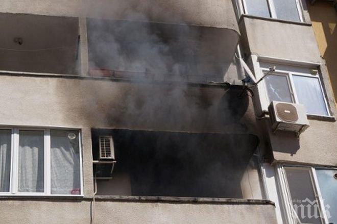 """82-годишна жена е починала при пожар в дома си на бул. """"П. Хитов"""" в Сливен. Това съобщиха от пресцентъра наОДМВР - Сливен.На 4 декември в 02,31 часа,..."""