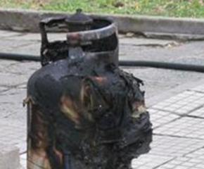 87-годишна пострада при взрив на газова бутилка