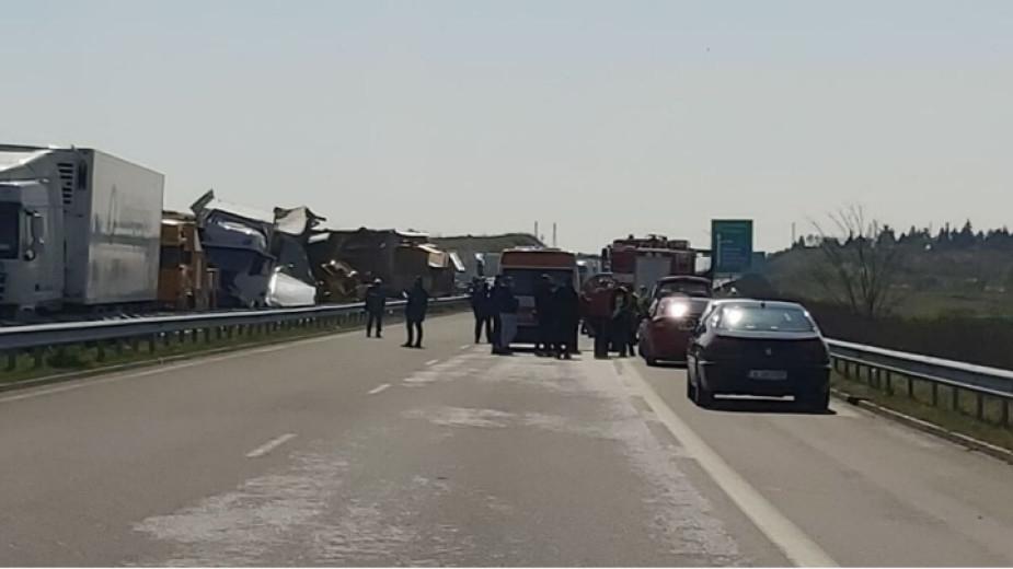 Европейският център по транспортни политики отчете 9 верижни катастрофи у нас по време на извънредното положение. Четири са жертвите на 19-те пътно-транспортни...