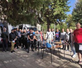 Акция по кръводаряване проведоха в полицейския център в Пазарджик