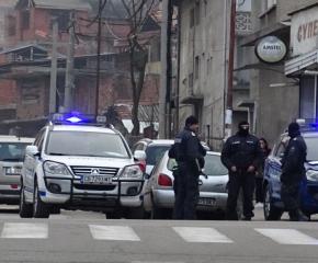 Акция на полицията в Благоевград