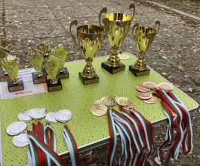 """В Археологически резерват """"Кабиле"""" се проведоха състезания по спортно ориентиране и скоростно изкачване на Зайчи връх"""