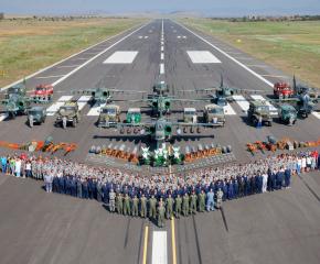 В авиобаза Безмер честват 68 години от нейното създаване