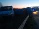 Автовоз се обърна край Бургас. Шофьорът избяга