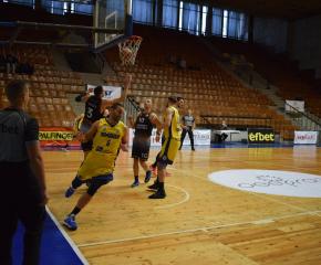 """Баскетболистите на Ямбол подхлъзнаха """"Академик""""-Пловдив"""
