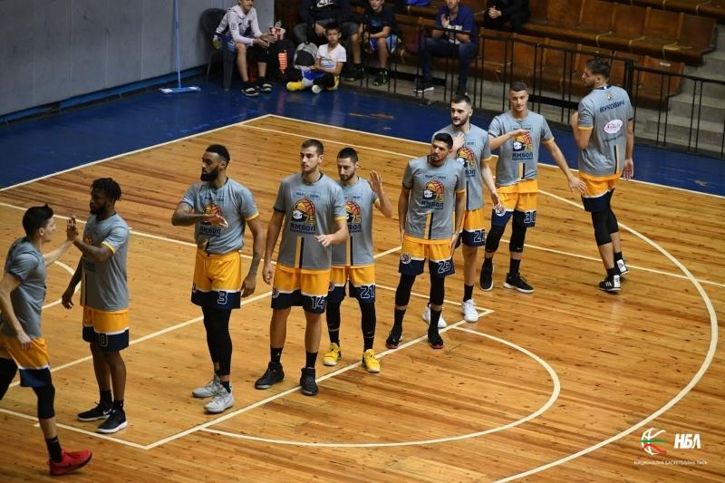 """Новакът в баскетболния елит """"Черноморец"""" взе първа победа за сезона след невероятно 114:79 срещу Ямбол в шестия кръг от шампионата на националната баскетболна..."""