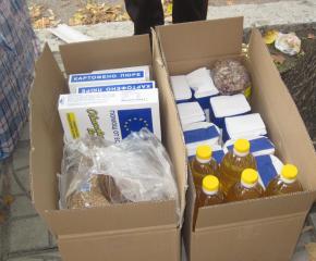 БЧК-Сливен предоставя хранителни пакети на 876 души