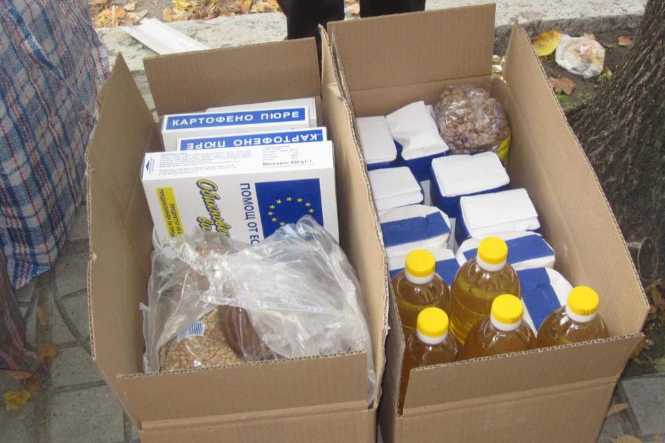 Българският Червен кръст - Сливен започна поетапно предоставяне по домовете на индивидуални хранителни пакети на 876 души от нови допълнителни групи лица...