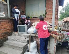 БЧК-Ямбол подпомогна семейство от Гълъбинци