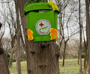 БМЧК - Ямбол изработиха хранилки за птици по случай Световния ден на врабчето
