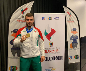 Борис Георгиев от Сливен стана световен шампион по джудо за полицаи