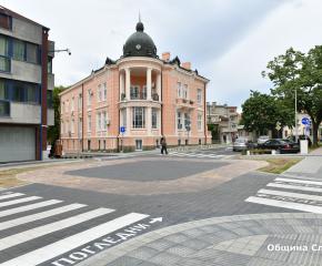 """Булевард """"Хаджи Димитър"""" в Сливен е напълно готов"""