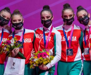Българският ансамбъл със сребро от многобоя на Световната купа в Пезаро