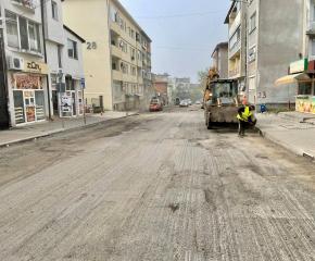 """Част от улица """"Преслав"""" се затваря за асфалтиране днес"""