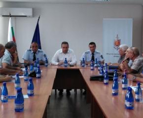 Представители на частни охранителни фирми се срещнаха с ръководството на полицията