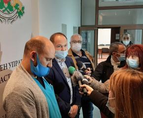 """Д-р Димитър Рунков: До края на годината МБАЛ """"Св.Пантелеймон"""" Ямбол ще обяви обществената поръчка за изграждане на новата болница"""