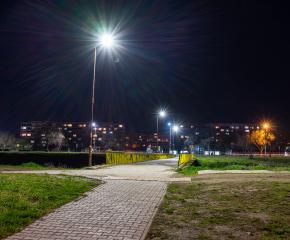 Дарените осветителни тела през месец февруари са монтирани на различни      улици в Ямбол