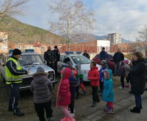 Ден на полицейската професия в детската градина