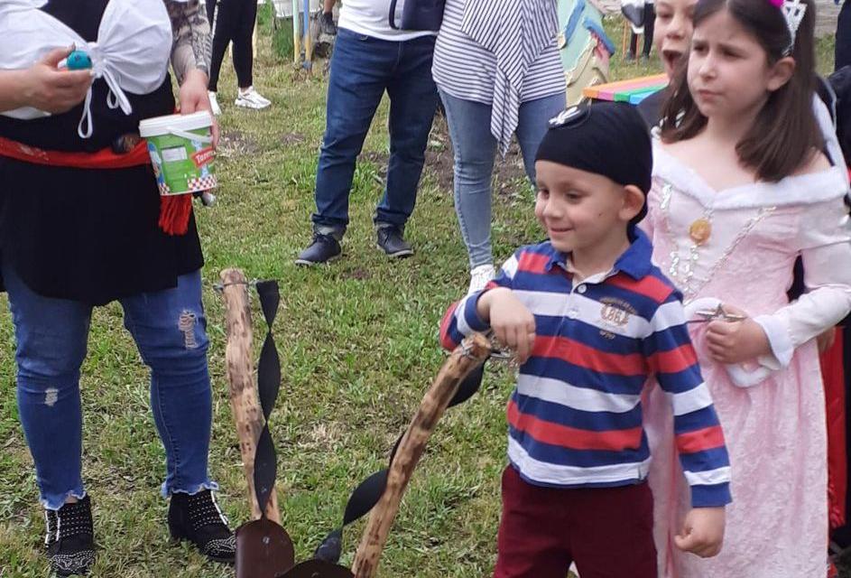 """На 08 юни 2021 г. в Детска градина """" Изворче"""", село Кабиле, община """"Тунджа"""" се случи чудо – дворът на детската градина се преобрази във вълшебен остров..."""