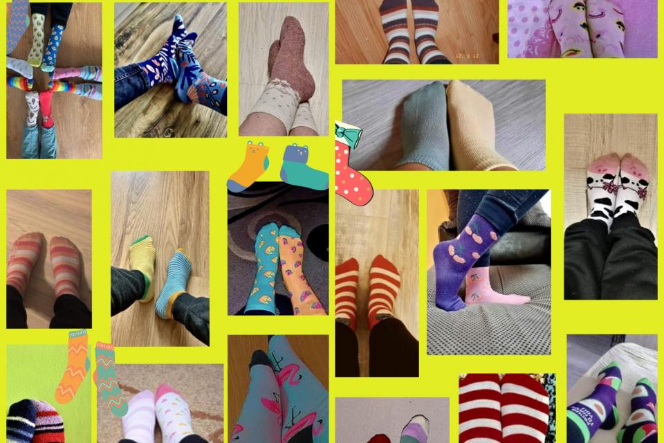 Доброволците от БМЧК - Ямбол отбелязаха 21.03 - Международния ден на хората със Синдром на Даун. Доброволците обуха шарени чорапи, които характеризират...