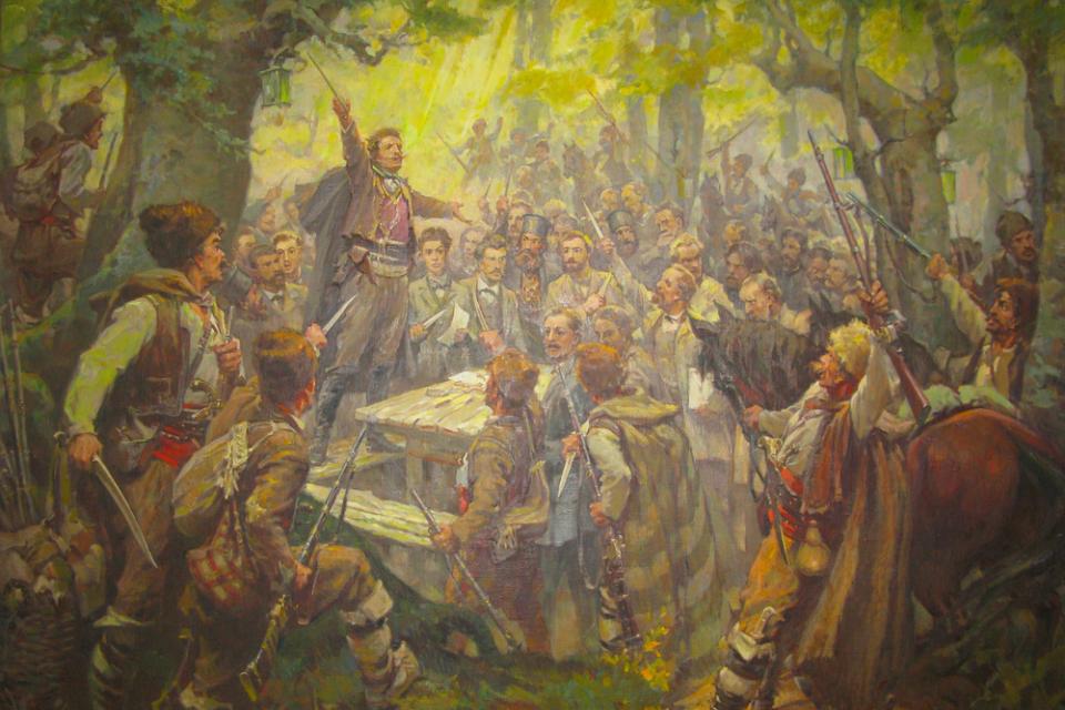 ВПанагюрище144-та годишнина от Априлското въстание ще бъде отбелязана днес, катопред паметниците на героите от епопеята ще се положат венци и цветябез...