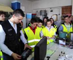 Доброволци от Детско полицейско управление гостуваха в РУ - Ямбол