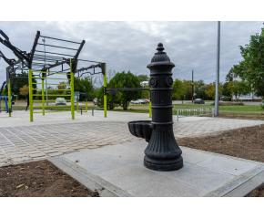 Две фитнес площадки в Ямбол вече са с нова настилка, едната е снабдена с чешма и видеонаблюдение