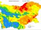 Екстремален индекс за пожароопасност е в сила в 10 области