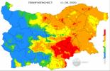 Екстремален индекс за пожароопасност в Ямбол, Сливен и още 9 области