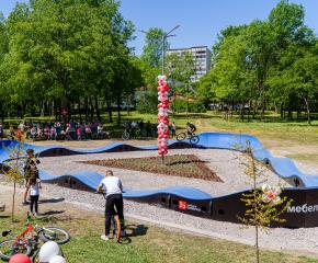 Екстремно състезание в Градския парк на Ямбол на откриването на новата пъмп-трак писта (СНИМКИ+ВИДЕО)