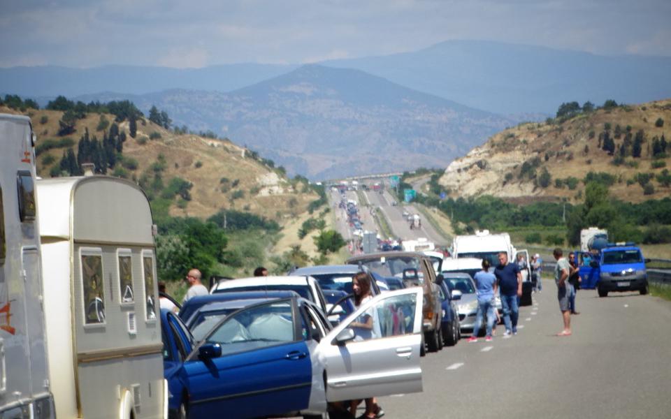 """Посолството на Гърция в България информира, че във връзка с предстоящите промени на правилата за влизане през ГКПП """"Кулата-Промахон"""" задължителният за..."""