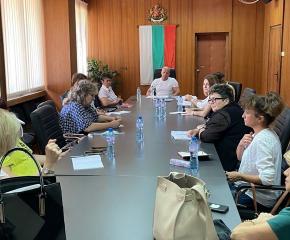 Енчо Керязов се срещна с директорите на детски градини в Ямбол