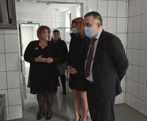 """Филиалът на Детска градина """"Теменуга"""" в Сливен вече разполага с модерен кухненски блок"""