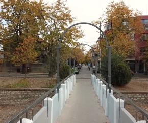 Фирми и институции преобразиха мост в Сливен безвъзмездно (ВИДЕО)