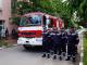 Гасят демонстративно пожар в сградата на община Стралджа