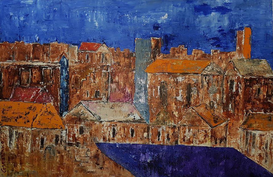 """Самостоятелна изложба на Георги Веснаков ще бъде открита в галерия """"Май"""" в Сливен на 27 май от 17.30 ч. Експозицията ще бъде подредена в галерията, а откриването..."""