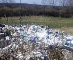 Глобиха шофьор, изхвърлил боклуци край язовира до Кюлевча
