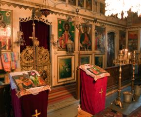 """Храмът """"Св. Александър Невски"""" в лесопарк """"Бакаджик"""" е първият паметник у нас на загиналите в Освободителната война през 1877-1878 г."""