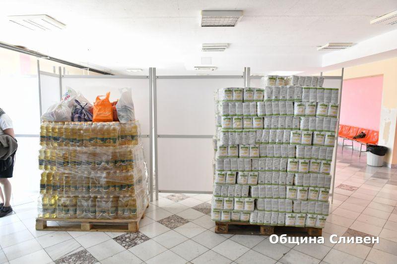 Увеличават се хората, нуждаещите се от продукти – първа необходимост, на територията на Сливен. Поради тази причина от общината апелират повече граждани...